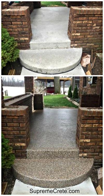 Concrete Resurfacing, Fort Wayne, Indiana