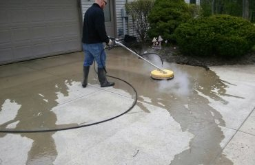 Concrete Cleaning Fort Wayne, Indiana